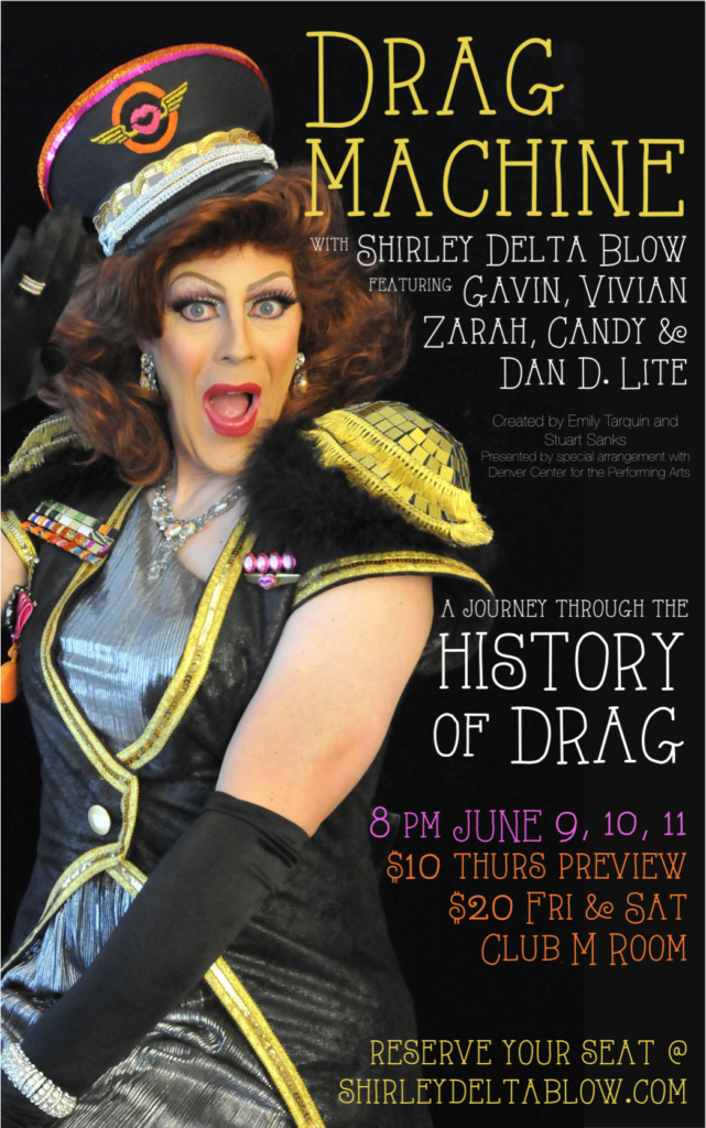 Drag Machine Poster
