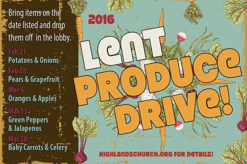 Produce Drive Postcard